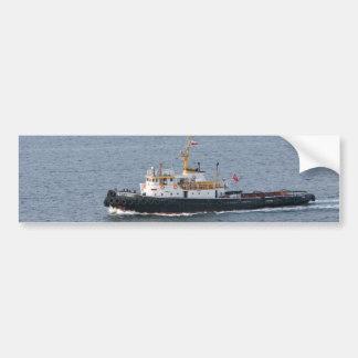 Turkish tugboat in Istanbul Car Bumper Sticker