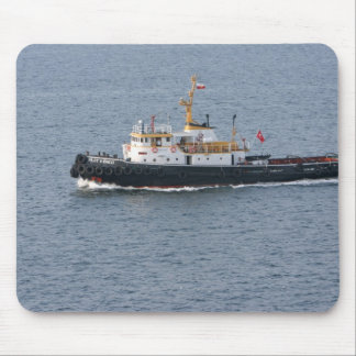 Turkish tugboat in Istanbul Mouse Pad