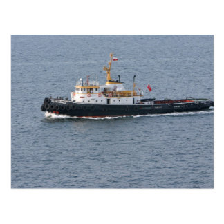 Turkish tugboat in Istanbul Postcards