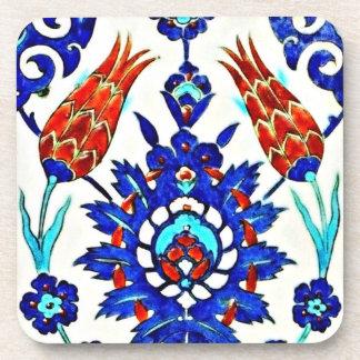 turkish tulips coaster
