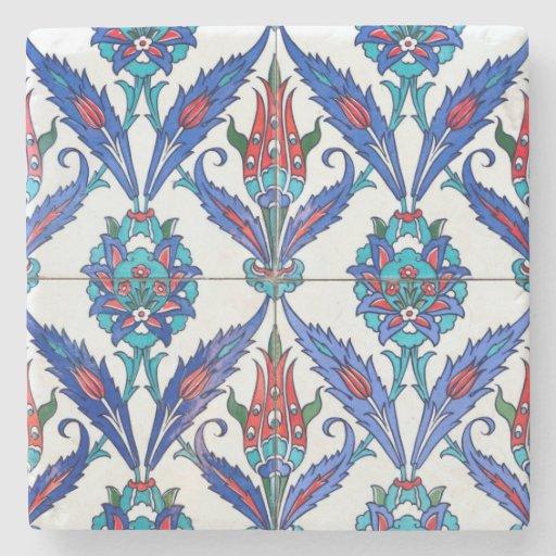 turkish tulips Stone Coaster