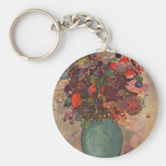 Turkish Vase by Bertrand-Jean Redon Basic Round Button Key Ring