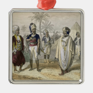 Turkish Volunteers' Camp, from 'Constantinople and Christmas Ornament