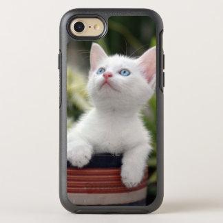Turkish White Kitten (2.5 Months Old ) OtterBox Symmetry iPhone 8/7 Case