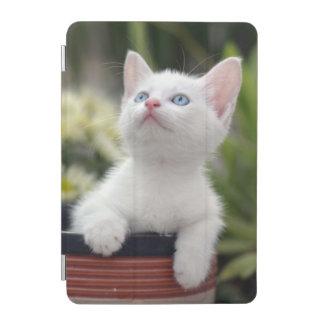 Turkish White Kitten iPad Mini Cover