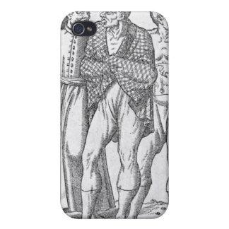 Turkish Wrestlers iPhone 4 Cover