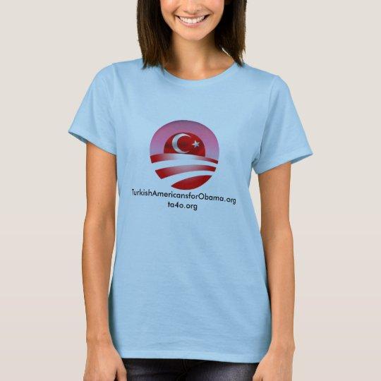 TurkishAmericansforObama.org T-Shirt