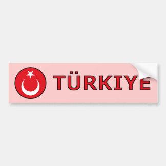 Turkiye Bumper Sticker