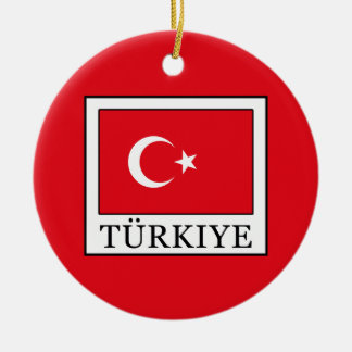 Türkiye Christmas Ornament