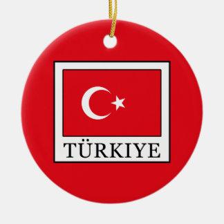 Türkiye Christmas Ornament