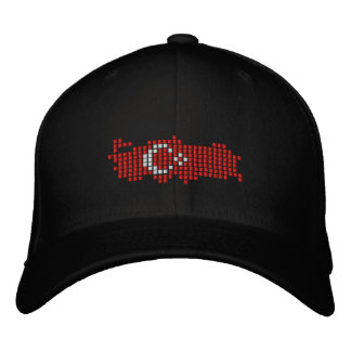 Turkiye Flag Embroidered Baseball Caps