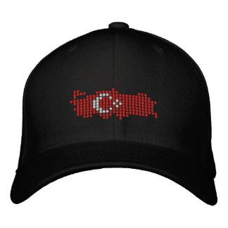 Turkiye Flag Embroidered Hat