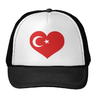 Turkiye Love Mesh Hats