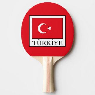 Türkiye Ping Pong Paddle