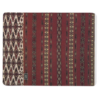 Turkmen Carpet Pattern Notebook