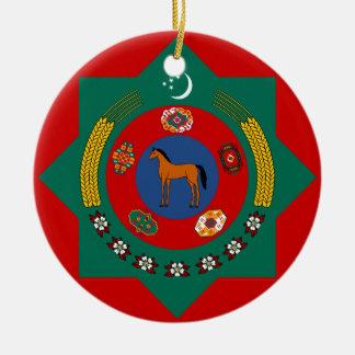 Turkmenistan Туркмения 1 Christmas Ornament