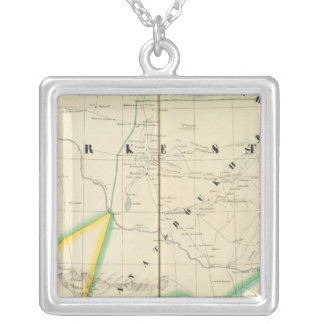 Turkmenistan Asia 54 Silver Plated Necklace