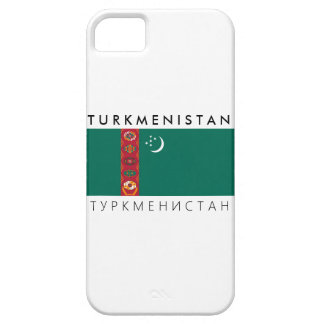 turkmenistan country flag name text symbol barely there iPhone 5 case