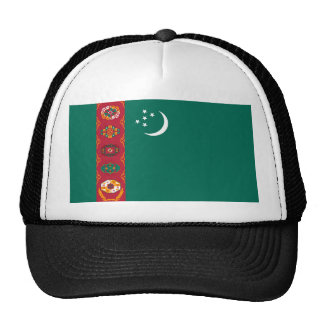 turkmenistan country flag name text symbol cap