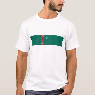 turkmenistan country flag name text symbol T-Shirt