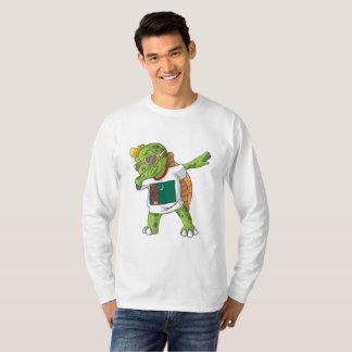 Turkmenistan Dabbing Turtle T-Shirt