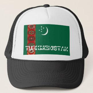 Turkmenistan flag souvenir hat