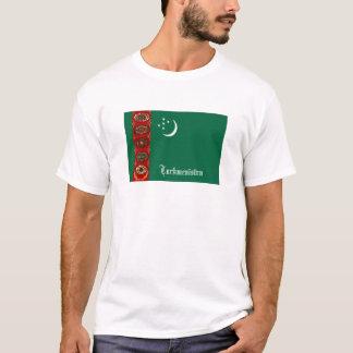 Turkmenistan flag souvenir tshirt