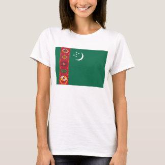 Turkmenistan Flag x Map T-Shirt