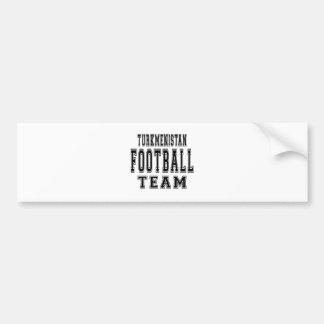 Turkmenistan Football Team Bumper Sticker
