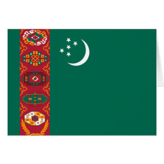 turkmenistan greeting card