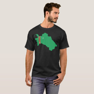 """Turkmenistan"" Nation T-Shirt"