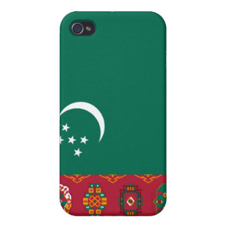 Turkmenistan National Flag  Covers For iPhone 4