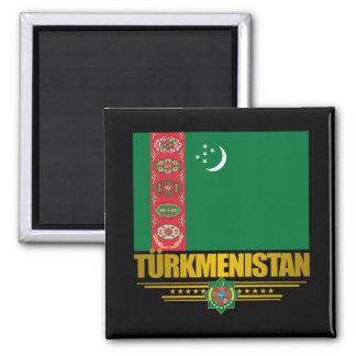 Turkmenistan Pride Square Magnet