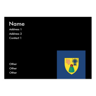 Turks and Caicos Business Card Templates