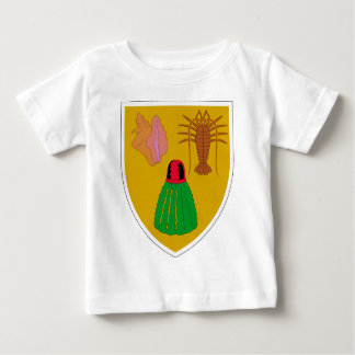 Turks and Caicos Coat of Arms Tshirt