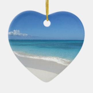 Turks and Caicos Dream Beach Christmas Ornament