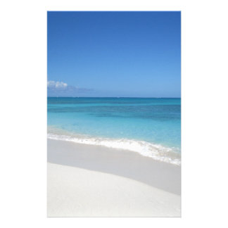 Turks and Caicos Dream Beach Custom Stationery