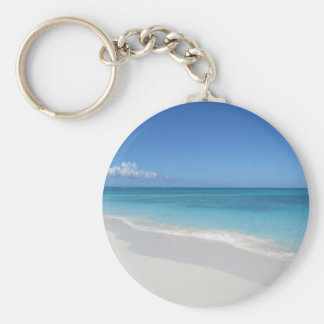 Turks and Caicos Dream Beach Key Ring