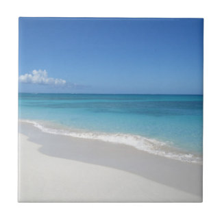 Turks and Caicos Dream Beach Small Square Tile