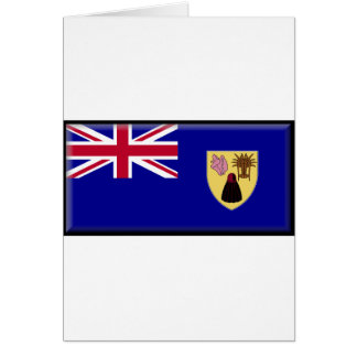 Turks and Caicos Flag Greeting Cards