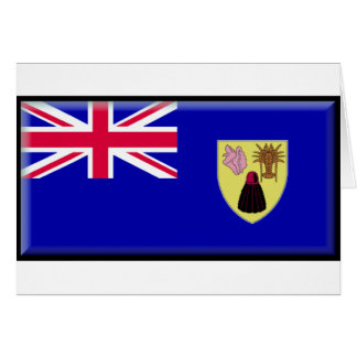 Turks and Caicos Flag Cards
