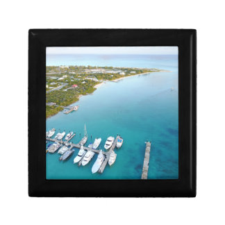 Turks and Caicos from above view bag Gift Box