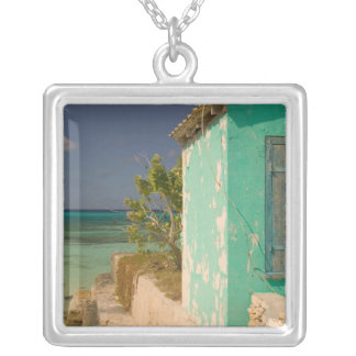 Turks and Caicos, Grand Turk Island, Cockburn 4 Silver Plated Necklace