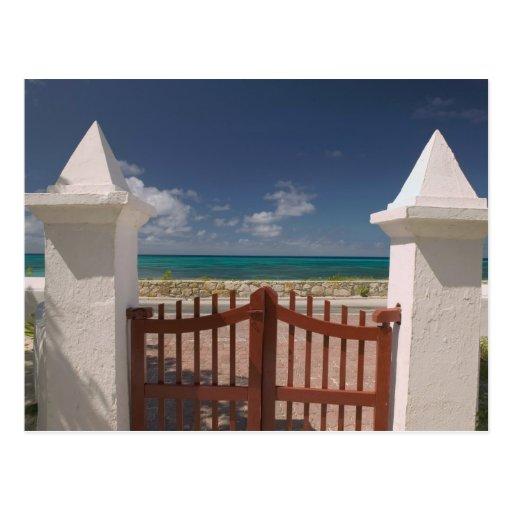 Turks and Caicos, Grand Turk Island, Cockburn 5 Post Card