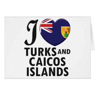Turks and Caicos Islands. Card