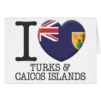 Turks and Caicos Islands Greeting Card