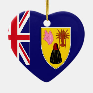 Turks and Caicos Islands Flag ornament