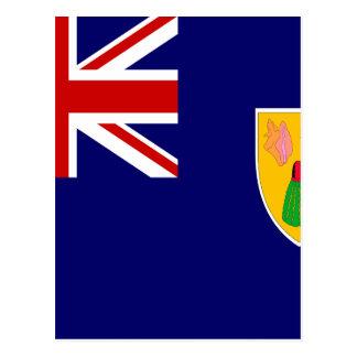 Turks And Caicos Islands Flag Postcard