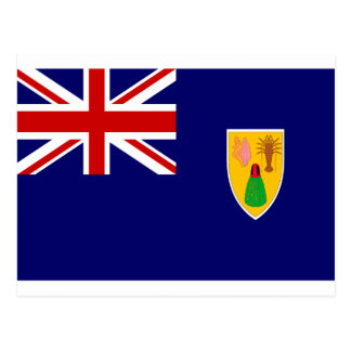 Turks And Caicos Islands Flag Postcard