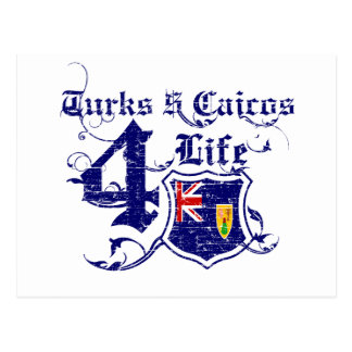 Turks and Caicos Islands for life Post Cards
